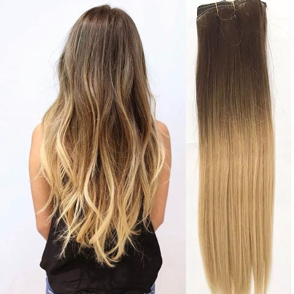 Accessories Brown To Ash Blonde Hair Extensions Poshmark